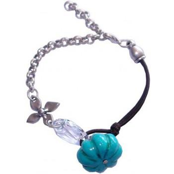Bracelet cristal swarovski et howlite